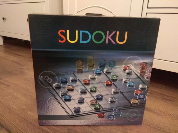 Gra Sudoku szklana