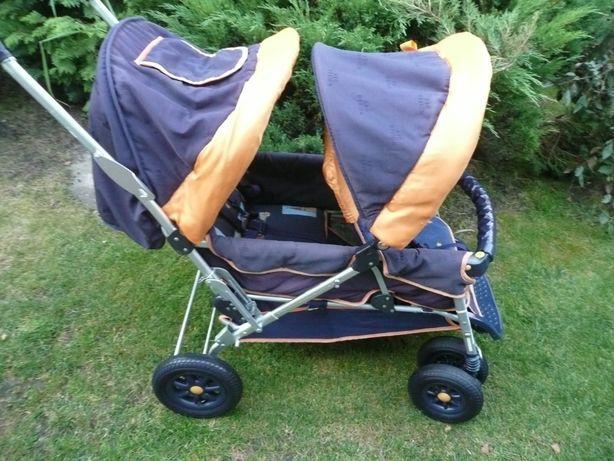 Wózek dla bliżniaków