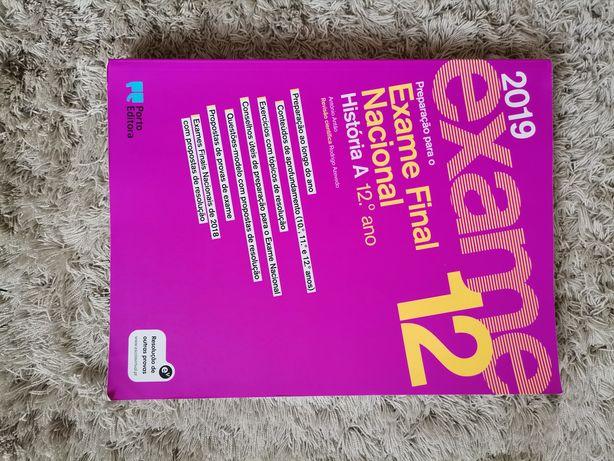 Livro de preparação para o exame de história 12°