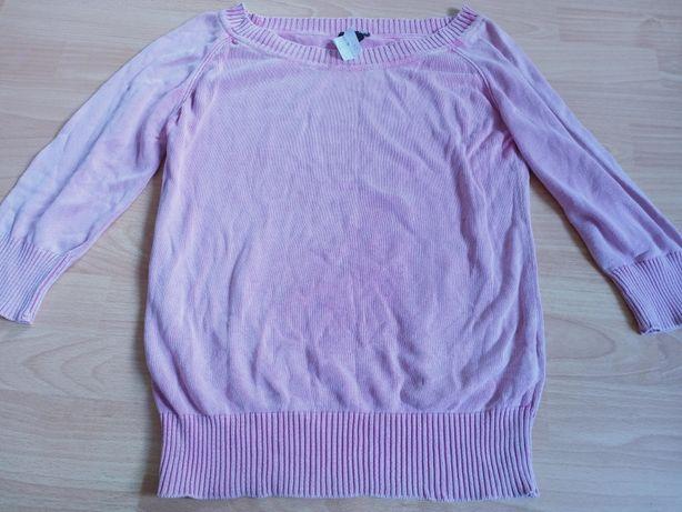 Różowy sweterek hm