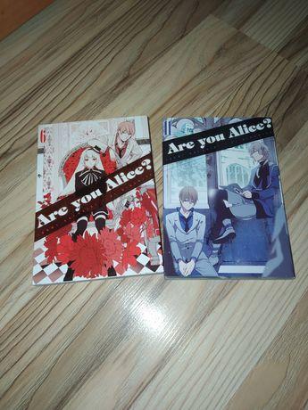 Are you Alice manga, mangi