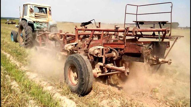 Копалка картофельная к трактору