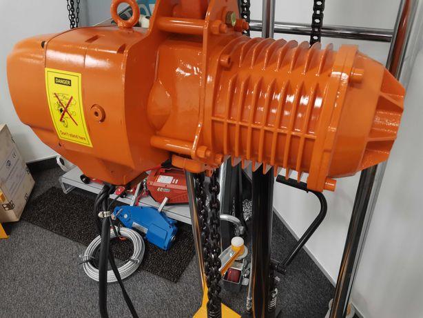 WCIĄGARKA elektryczna łańcuchowa z wózkiem HHBD