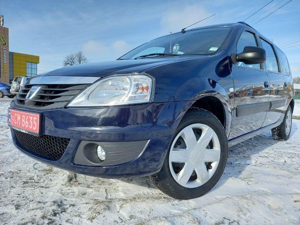 Dacia Renault Logan MCV *2013 1.6MPI GAZ AMBIANCE Сервисная Не крашена