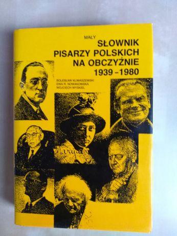 Mały słownik pisarzy polskich na obczyźnie.