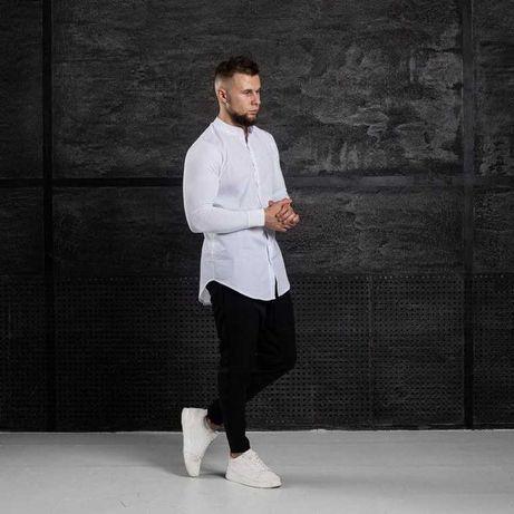 Тренд Лета ! Комплект мужской ASOS костюм белая рубашка Брюки черные