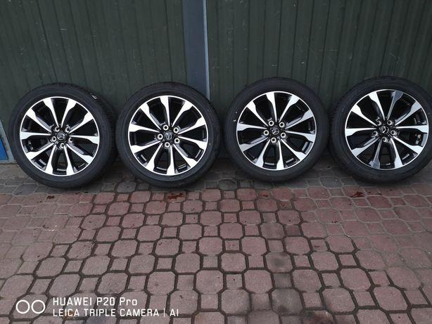 Komplet nowych kół letnich 5x114,3 215/50/18 Mazda 2018r