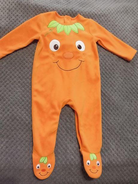 Ползунок-человечек флисовый для ребенка 6-9 месяцев, George
