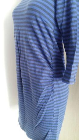 Sukienka ciążowa H&M Mama r.M elastyczna w paski tunika