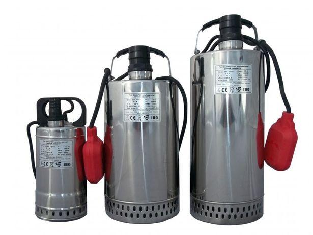 Pompa zatapialna F-SWQ1500 IBO do wody brudnej - Korpus INOX