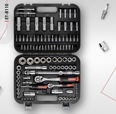 Набор инструментов Intertool 110 ед. ET 8110. ET8111