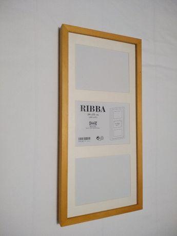 Moldura RIBBA Ikea 50*23 NOVA castanho claro