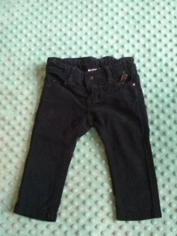 Spodnie ze sztruksu rozm 74