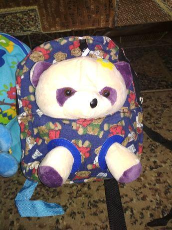 Рюкзак дитячий рюкзачок з іграшкою