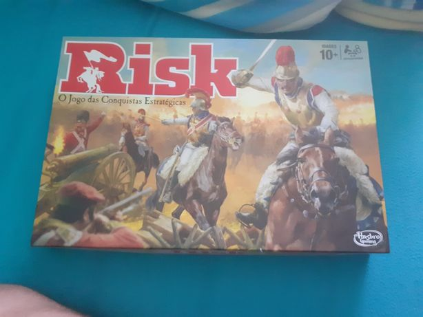 Jogo risco tabuleiro
