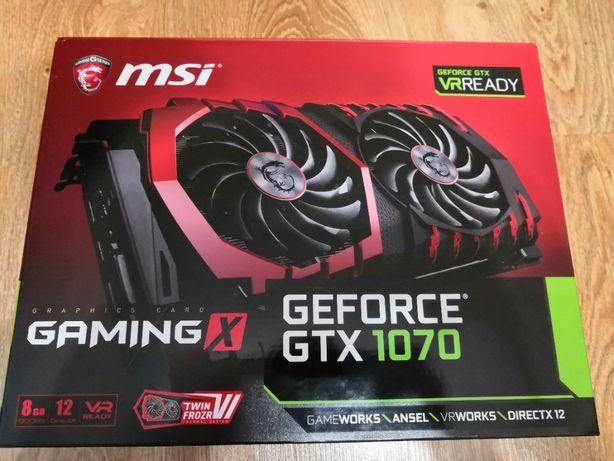 Видеокарта MSI GeForce GTX1070 8192Mb GAMING X