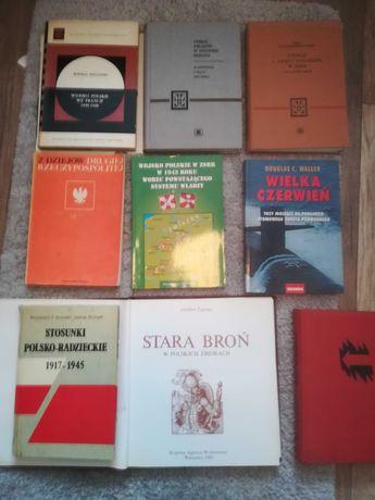 Kolekcja książek o II wojnie światowe zamiana