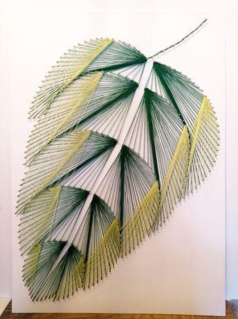 Obraz string art 50x70