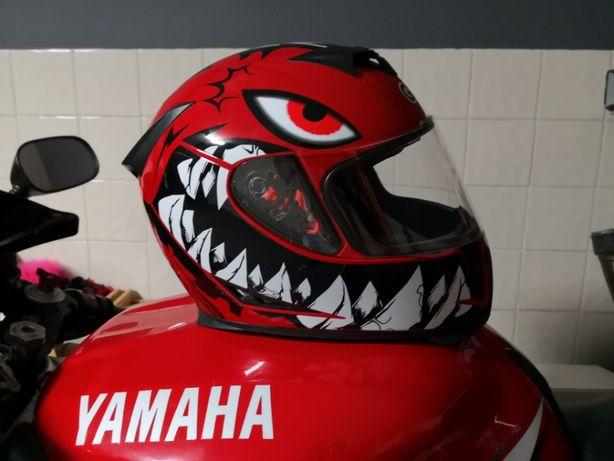 capacete de mota