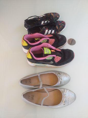 Buty Nike Adidas Balerinki