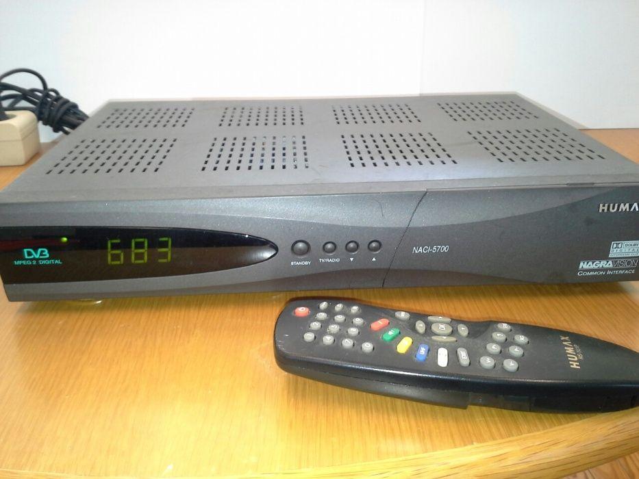 Recetor de satélite Humax NACI-5700
