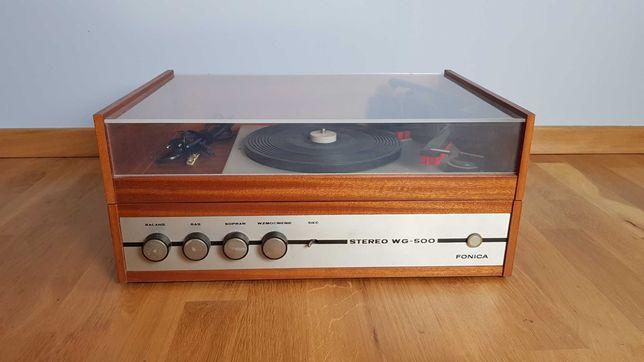 Gramofon Unitra Fonica WG-500 - wzmacniacz lampowy - sprawny!