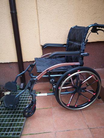 Nowy ultralekki wózek Inwalidzki wheelie light składany lekki 13kg
