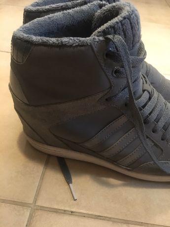 Adidas 39/40 na koturnie