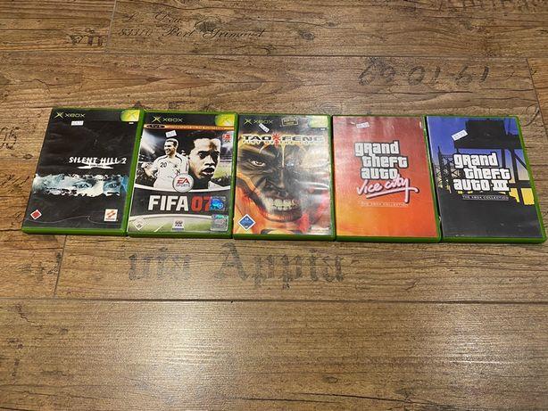 5 gier Xbox Classic/360 *Gta, FIFA*