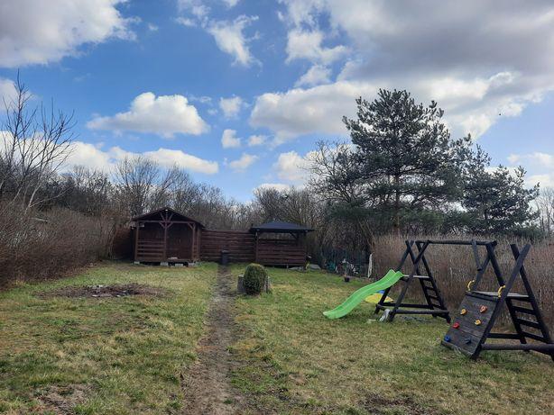 Ogródek działkowy rekreacyjny rod Pstrowski