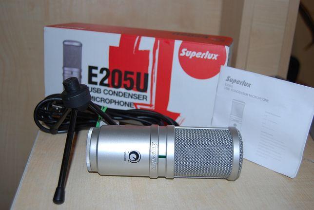 Superlux E205U Studyjny mikrofon z interfejsem USB/Lombard Krzysiek