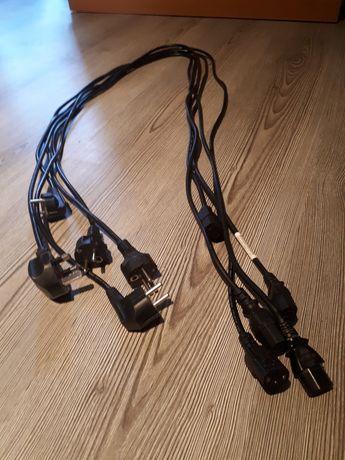 Kable zasilające - audio . Sprzęt - Yamaha Dual Sony Panasonic Radmor