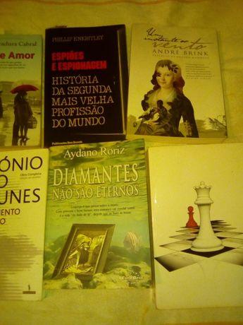 Livros recentes