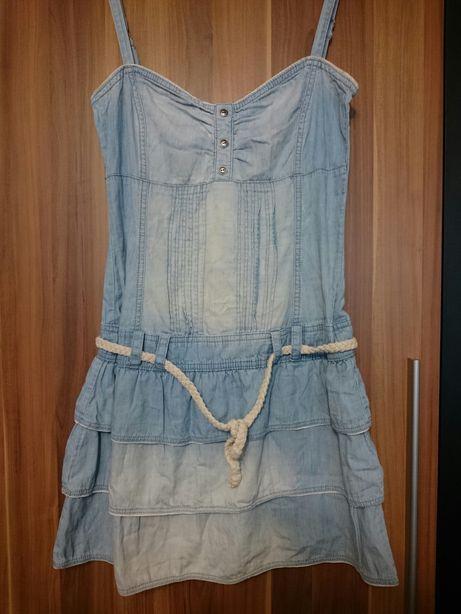 Sukienka XS Fishbone jeans dżinsowa