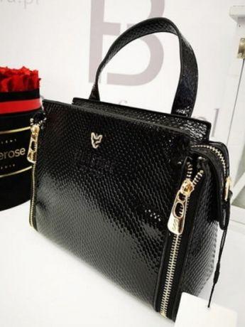 Elegancka torebka czarna Eva Minge