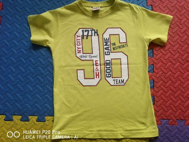 T-shirt chłopięcy roz. 128