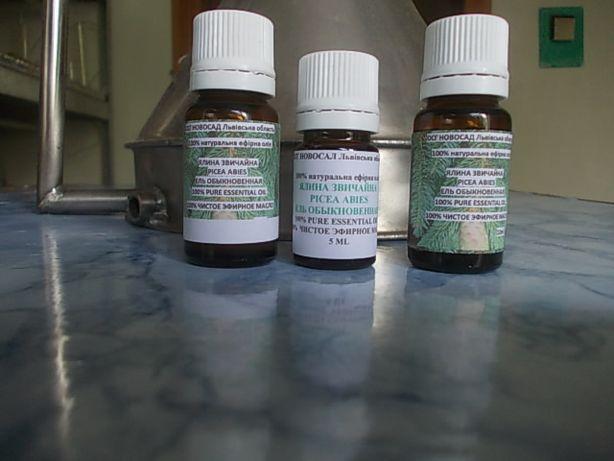 ефірна олія ялини звичайної,модрини, ялівця власного виробництв