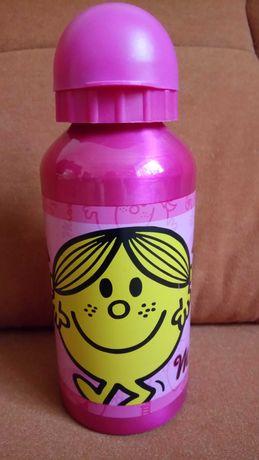 Бутылочка для воды, поильник, детская. Для девочки.