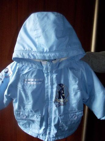 "Куртка, курточка демисезонная ""baby line"" 80 - 92 размер+шапки подарок"