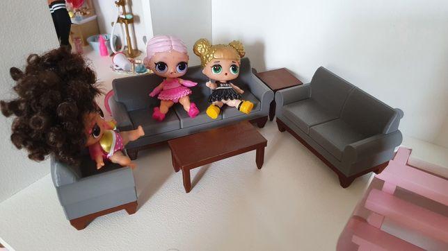Набор мебели, диваны, кресла, столики для лол