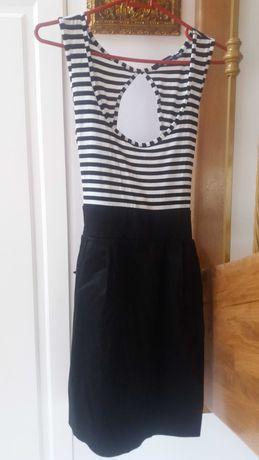 Sukienka marynarska r.40