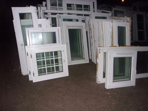 Okna pcv używanych po demontażach& Mega ilość - zapraszamy