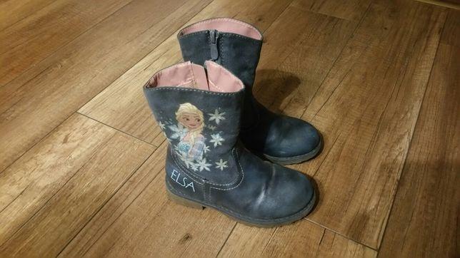 Buty zimowe dla dziewczynki rozm. 27