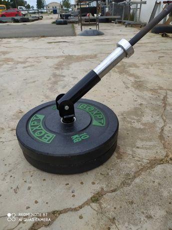 Landmine barra olimpica