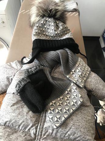Набор шапка шарф к комбезу Gap