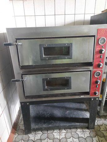 Печь для пиццы GGF 4+4.двухуровневая Италия . Профессиональная Италия
