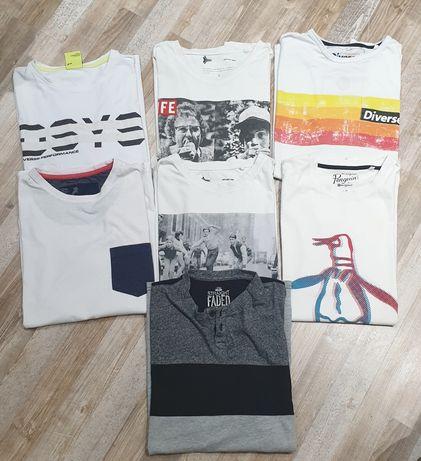 Koszulki, koszulka, t-shirt Diverse i inne L i XL - 5 zł sztuka