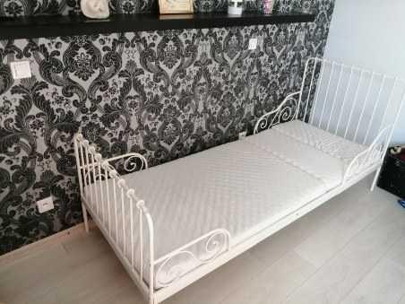 Łóżko metalowe dziewczece