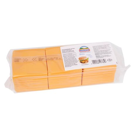 Сыр в ломтиках Хохланд Чеддер (Hohland Cheddar) 1033 кг