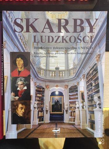 Książka - Skarby Ludzkości. Dziedzictwo dokumentacyjne UNESCO